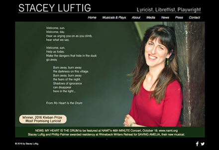 Stacey Luftig Playwright and Musical Theater Writer